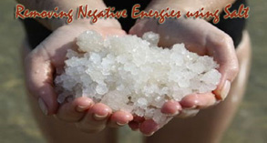 Home Remedies to remove Negative Energies using Salt