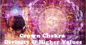 Crown Chakra (Sahasrara) for Divinity and Higer Values - AlternateHealing.net