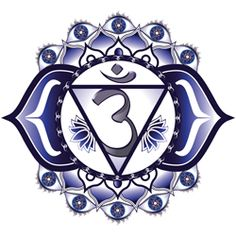 Third Eye Chakra (Ajna) Symbol and Mantra - AlternateHealing.net
