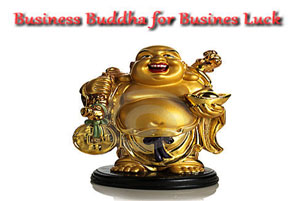 Business Buddha - Feng Shui Laughing Buddha - AlternateHealing.net
