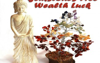 Gemstones Tree for Wealth Luck - AlternateHealing.net